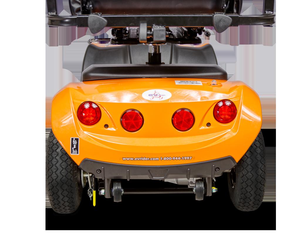 Orange CityRider Rear View